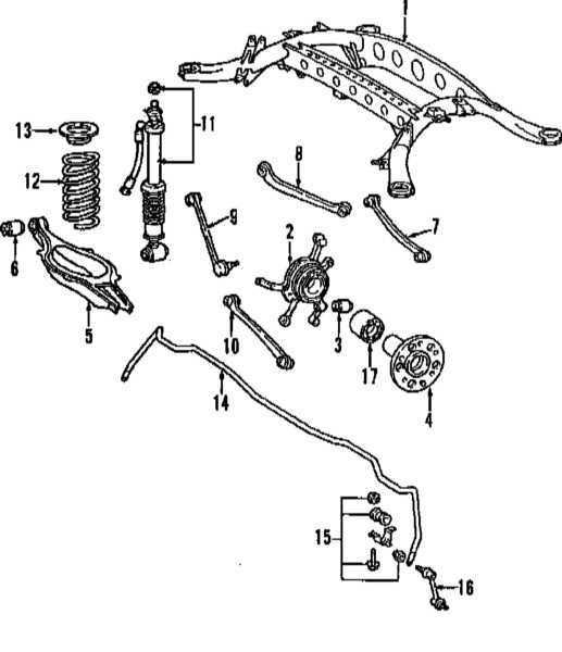 Ремонт Мерседес 220 : Задняя подвеска Mercedes W220