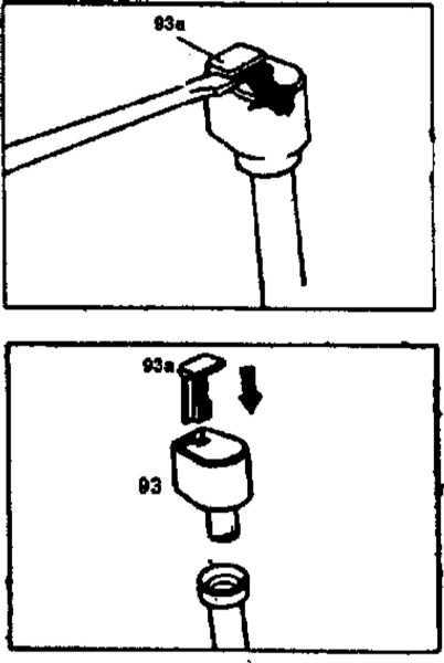 Ремонт Мерседес 220 : Проверка уровня масла автоматической