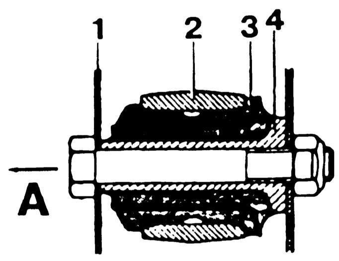 Ремонт Мерседес 123: Передняя подвеска Mercedes W123