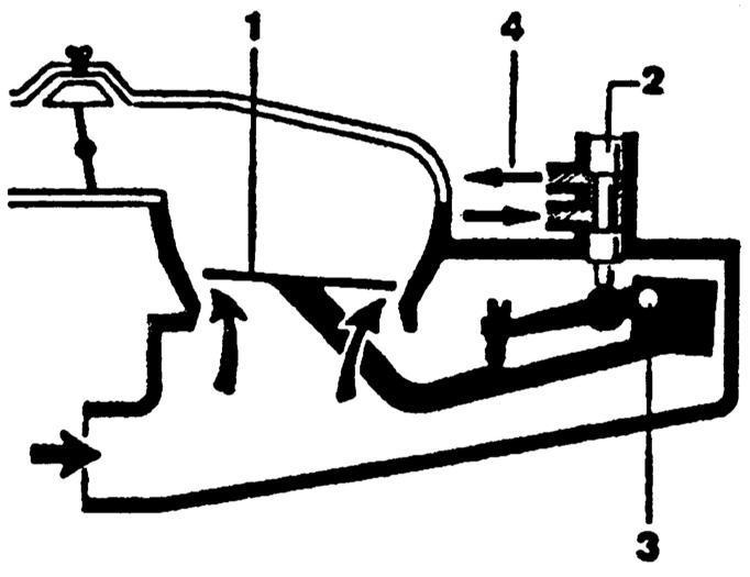 Ремонт Мерседес 123 : Дозатор-распределитель топлива