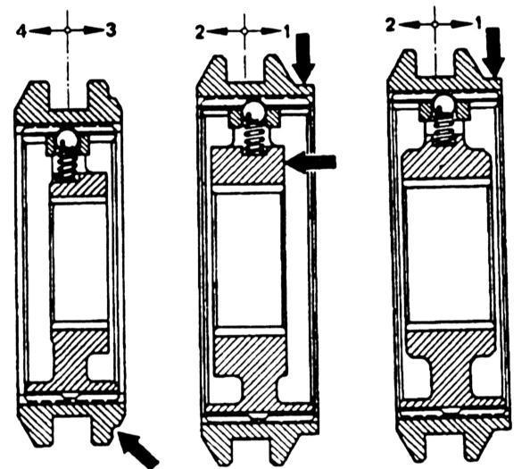 Ремонт Мерседес 123 : Разборка и сборка вторичного вала