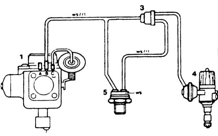Ремонт Мерседес 123 : Бесконтактная система зажигания TSZ