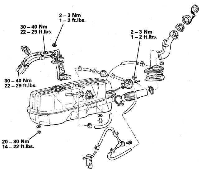 Ремонт Митсубиси Паджеро : Топливный насос Mitsubishi Pajero
