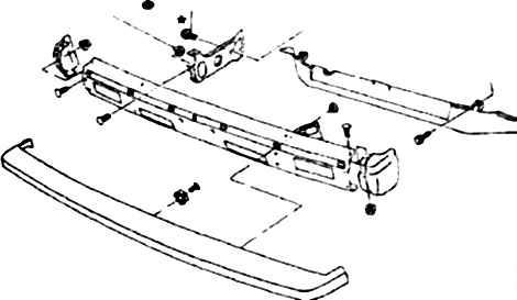 Ремонт Ниссан Террано: Кузов и элементы отделки Nissan