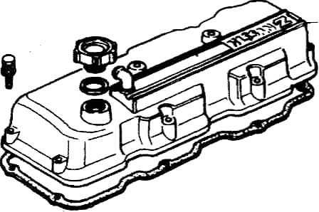 Ремонт Ниссан Террано: Четырехцилиндровыв двигатели Nissan