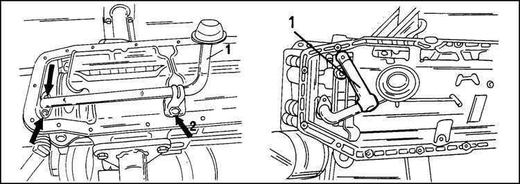 Ремонт Опель Фронтера : Работы с системой смазки двигателя
