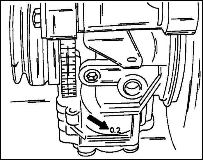 Ремонт Опель Фронтера : Работы с системой смазки на