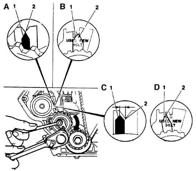Ремонт Опель Омега : Газораспределительный ремень Opel Omega