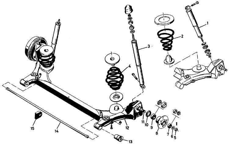 Ремонт Опель Кадет : Подвеска и рулевое управление Opel