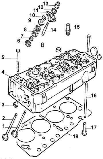 Ремонт Опель Кадет : Головка блока цилиндров Opel Kadett E