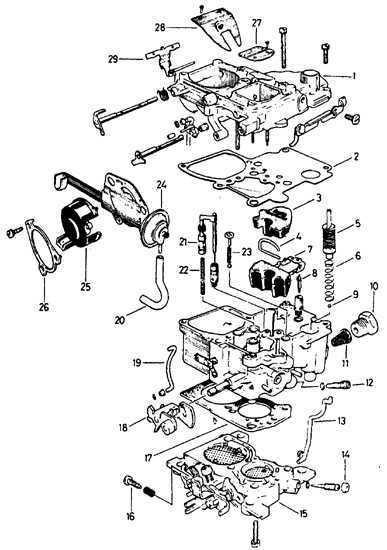 Ремонт Опель Кадет : Ремонт карбюратора Opel Kadett E