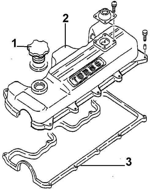 Ремонт Опель Вектра : Крышка головки блока цилиндров Opel