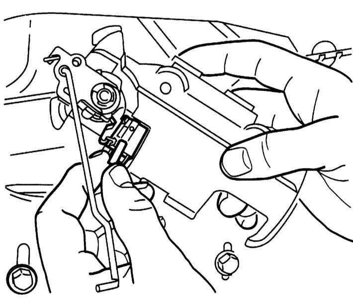 Ремонт Опель Корса : Снятие и установка наружной ручки