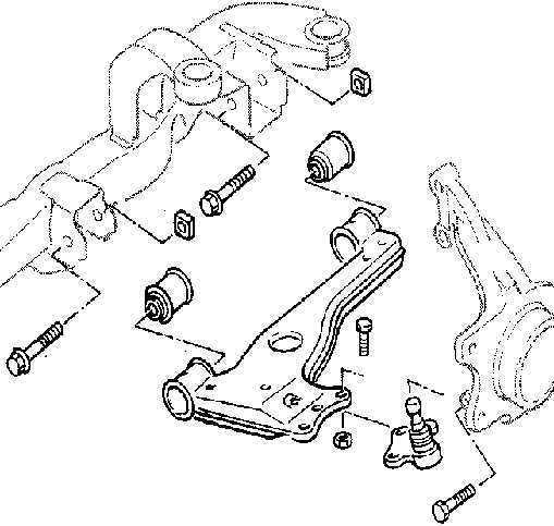 Ремонт Опель Вектра: Ходовая часть Opel Vectra B. Описание
