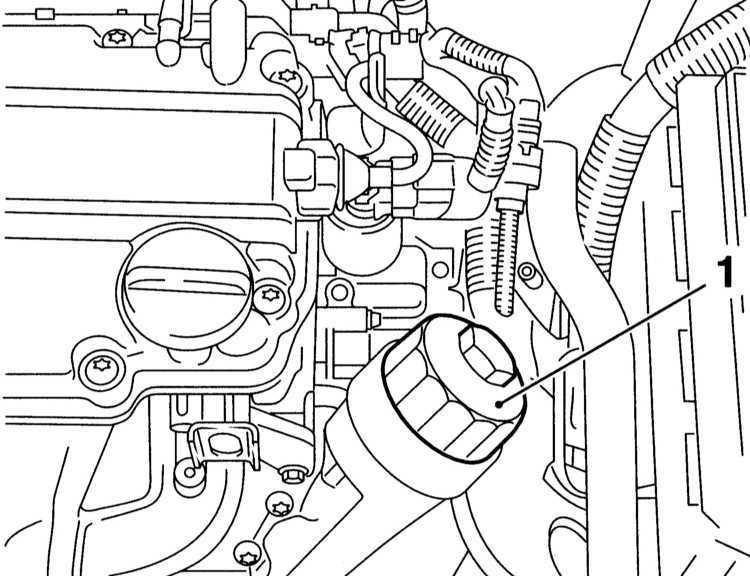 Ремонт Opel Astra Опель Астра Замена двигательного масла и