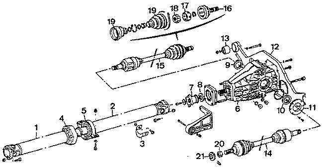 Ремонт Пежо 405 : Привод на передние колеса с силовым