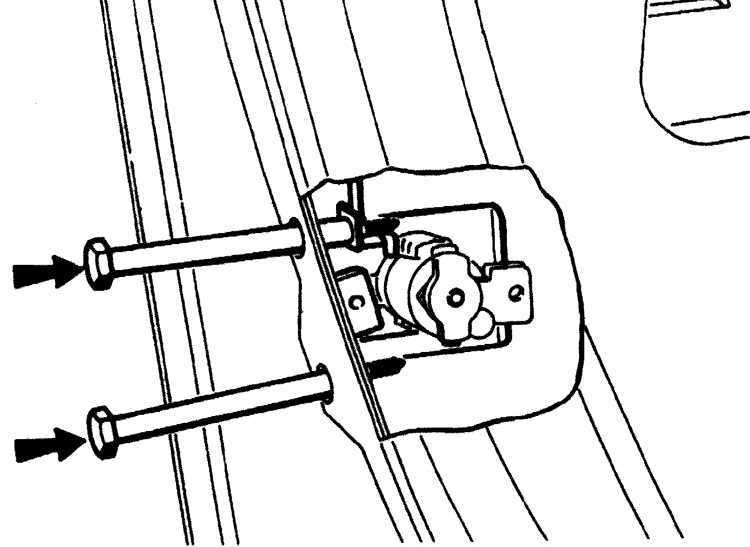 Ремонт Пежо 405 : Замок и ручки открытия двери Peugeot 405
