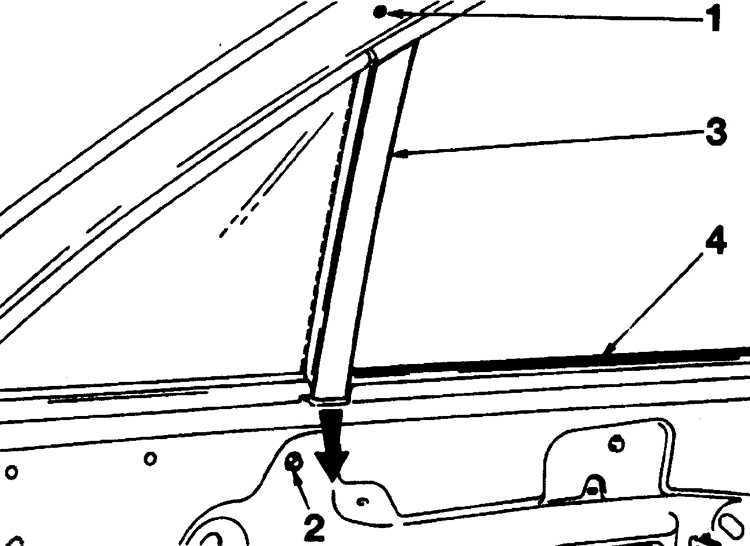 Ремонт Пежо 405 : Стекла дверей Peugeot 405