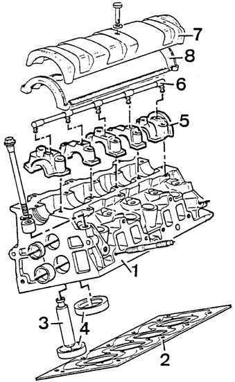 Ремонт Пежо 405 : Снятие и установка головки блока
