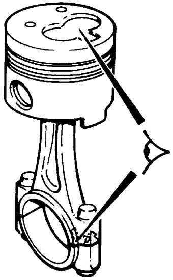 Ремонт Пежо 406 : Поршни и шатуны Peugeot 406