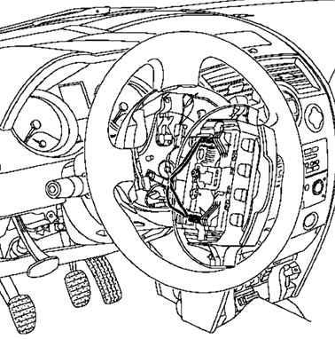 Ремонт Рено Меган 2 : Снятие и установка рулевой колонки
