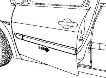Ремонт Рено Меган 2 : Снятие и установка декоративной
