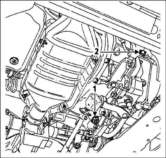Ремонт Renault Megane Рено Меган : Проверка уровня масла