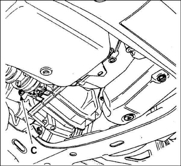 Ремонт Renault Megane Рено Меган : Проверка уровня