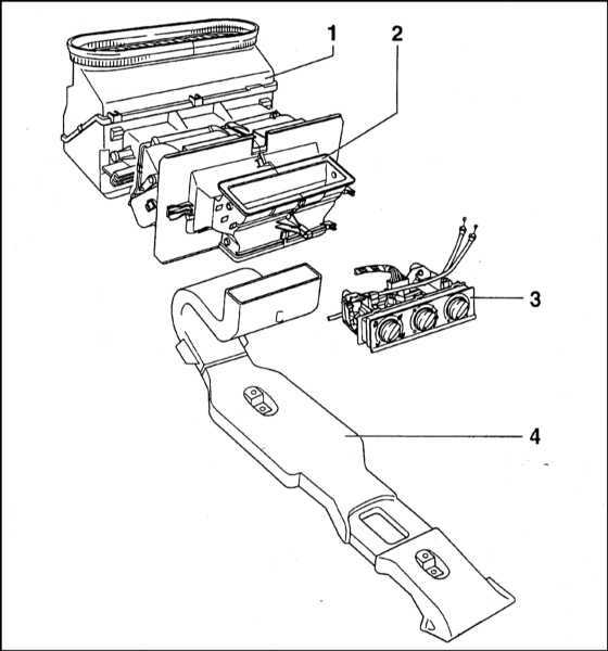 Ремонт Шкода Фелиция : Система отопления/вентиляции салона