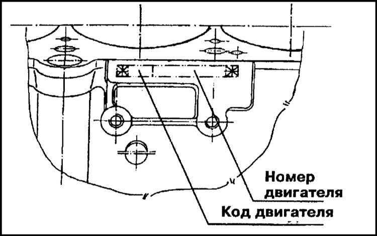 Ремонт Шкода Фелиция : Идентификационные номера автомобиля