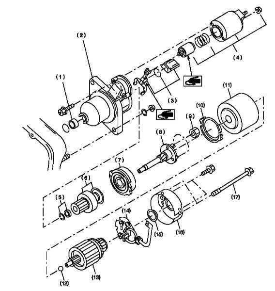 Ремонт Субару Легаси: Электрооборудование двигателя Subaru