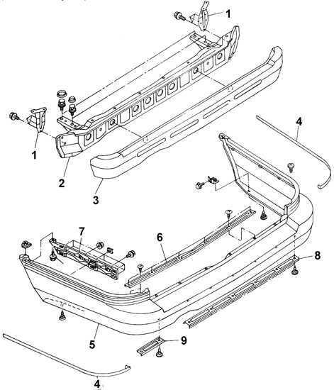 Ремонт Subaru Legacy Субару Легаси : Задний бампер