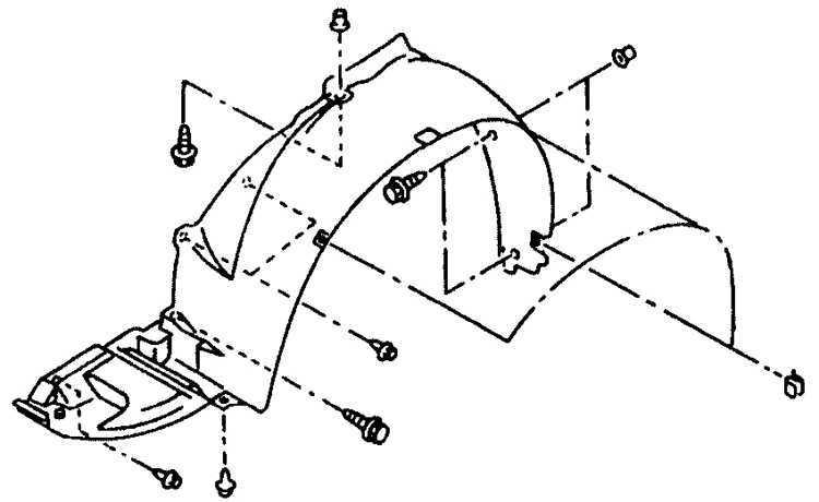 Ремонт Subaru Legacy Субару Легаси : Переднее крыло