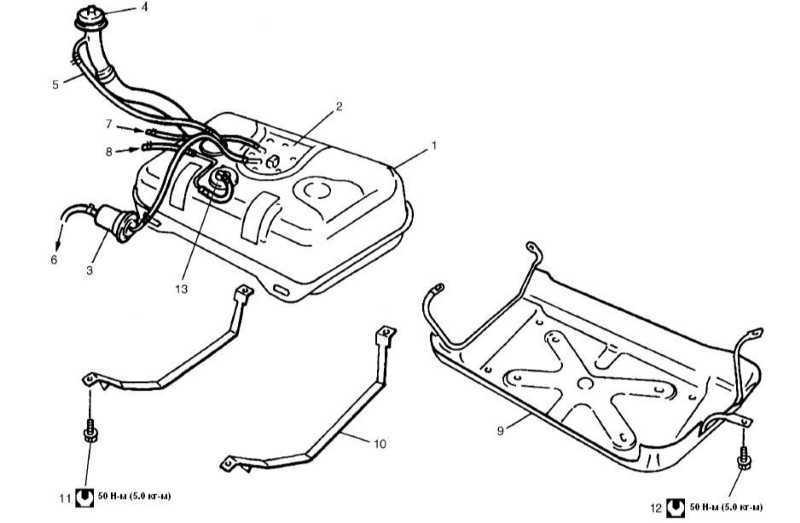 Ремонт Сузуки Гранд Витара: Топливная система Suzuki Grand