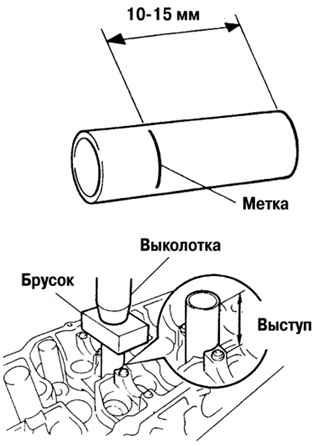 Ремонт Тойота Камри : Сборка головки блока цилиндров