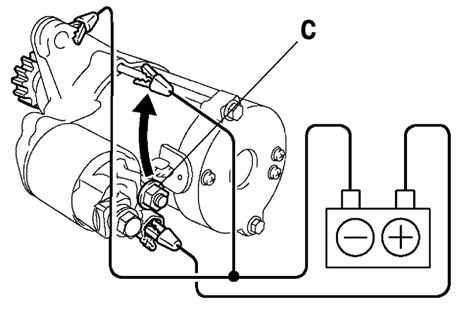 Ремонт Тойота Камри : Проверка работы стартера Toyota Camry
