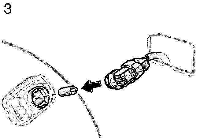 Ремонт Тойота Камри : Боковые световые сигналы Toyota Camry