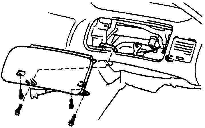 Ремонт Тойота Королла : Приборная панель Toyota Corolla