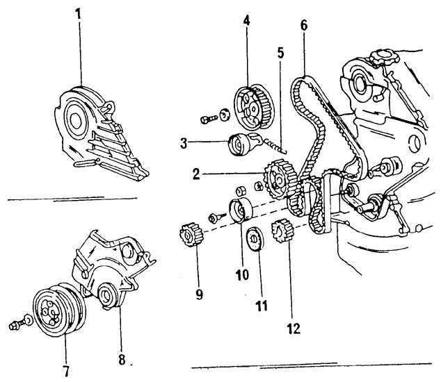 Ремонт Тойота Королла : Дизельный двигатель Toyota Corolla