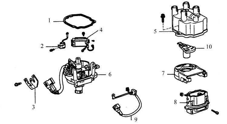 Ремонт Тойота Королла : Система зажигания Toyota Corolla