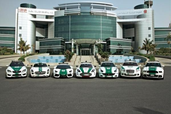 See The Amazing Collections Of Luxury Cars In Dubai Police Force Fleet