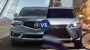 Comparison review: Lexus RX vs Acura MDX (second generation)