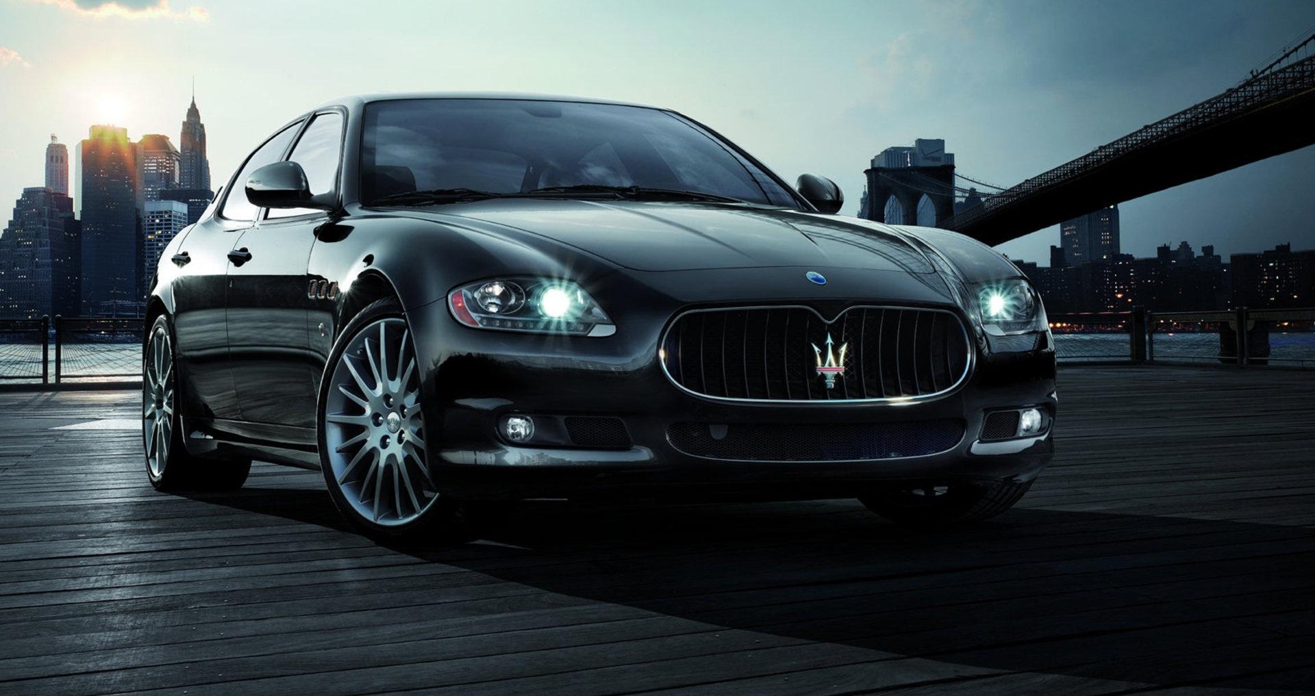 Italian Stallion  Maserati Quattroporte Luxury Sedan
