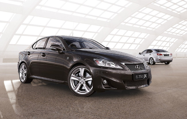 Lexus Is 250x And Is 350x Models Added To The Famous Line