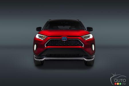 2021 Toyota RAV4 Prime, front
