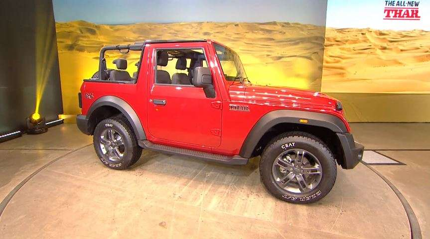 Built on a 3rd generation chassis, the SUV runs on 18-inch tyres.