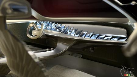 Kia CV concept, interior