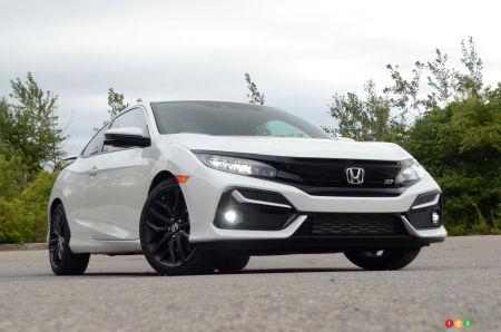 2020 Honda Civic Si Coupe, three-quarters front