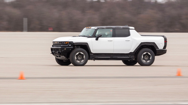 2022 GMC Hummer EV first prototype