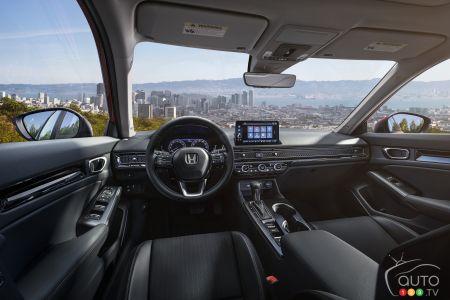 2022 Honda Civic, interior